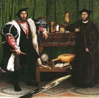 Ambasadorzy - Hans Holbein Młodszy