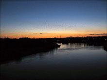 Tyraspol - wieczór nad Dniestrem - fot. Kateryna Semeniuk