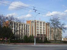 Tyraspol - siedziba Prezydenta i Rady Najwyższej Naddniestrza    <br /> - fot. R.Simaczenko