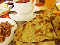 Chapati na śniadanie