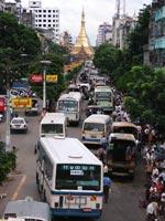 Ulica w Rangunie