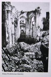 Ruiny katedry św. Jana w Warszawie