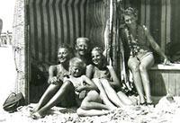 Na bałtyckiej plaży