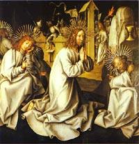 Holbein - modlitwa w Getsemane