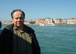 autor artykułu i Wenecja