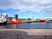 port w Aberdeen