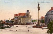 Warszawa - Krakowskie Przedmieście. Wydana przed 1931 r.