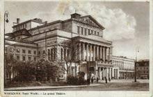 Warszawa– Teatr Wielki. Wysłana w 1938 r.