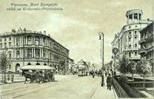 Warszawa– hotel Europejski. Wysłana w 1920 r.
