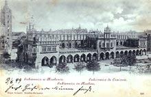 Kraków– Sukiennice. Wysłana w 1899 r.