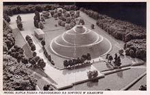 Kraków– model kopca Piłsudskiego. Wysłana w 1938 r.