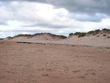 plaża w Lossiemouth