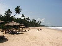 plaża w ośrodku w Axim