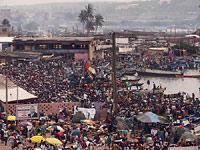 widok z fortu w Elminie