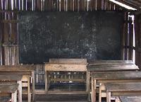 klasa w szkole w Nzulezo
