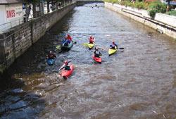 Rafting w Karlowych Warach