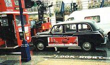 Angielska taksówka - Londyn, Oxford Street