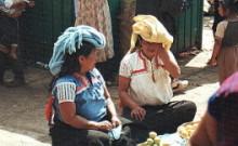 Indianki na targu w San Cristobal