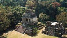 Piramidy w Palenque