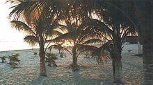Zachód słońca na Isla Mujeres