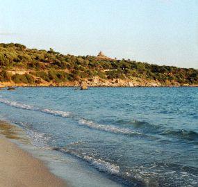 Golfo di Cagliari i Nuraghe Diana