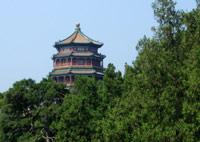 Pawilon rozproszonych Chmur, Ogrody Pałacu Letniego, Pekin