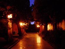 Alejka w Parku Zhongshan – nieopodal Zakazanego Miasta, Pekin