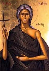 Maria Egipcjanka, ikona współczesna