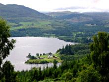Loch Ness-widok z góry