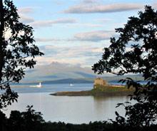 Widok z wyspy Mull