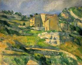 Paul Cezanne, Domy w Prowansji