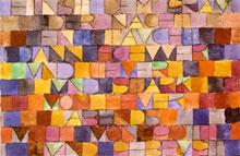 Paul Klee, fragm. wiersza-obrazu,1918, Berno, Kunstmuseum