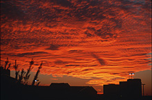 Zachód słońca nad Dallas, fot.autory