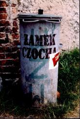 Kubeł zamkowy, fot. z archiwum autory