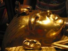 Złota maska Tutenchamona, fot. stock.xchng