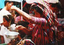 Targowisko w Solola, fot. KK/archiwum własne autory