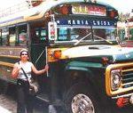 Chickenbusem przez Gwatemalę