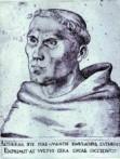 Lukas Cranach starszy - Portret Marcina Lutra jako zakonnika ok 1520
