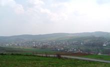 Widok z drogi Chełm-Łapczyca