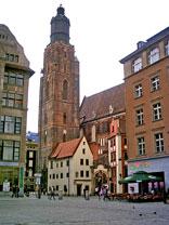 wieża kościoła św. Elżbiety