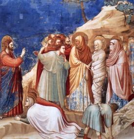 Giotto, Wskrzeszenie Łazarza
