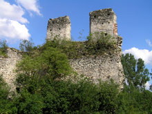Mokrsko - zamek