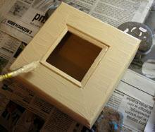 malowanie pudełka