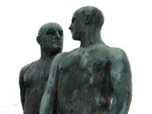 rzeźby w parku Vigelanda, Oslo