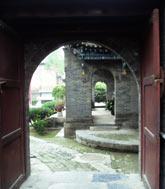 edna z bocznych uliczek w wielkim Meczecie w Xianie