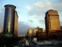 City Hall – nowoczesna dzielnica Tajpej