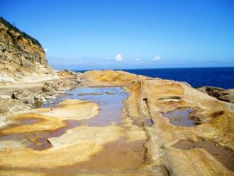 Wybrzeże, Park Narodowy Yeliou, Tajwan