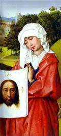 Rogier van der Weyden - Weronika, fragment