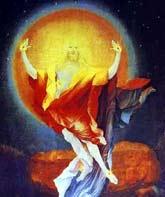 Gruenewald - Zmartwychwstanie, fragment