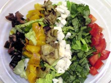 Italian Cobb salad, fot. Kinga Doris